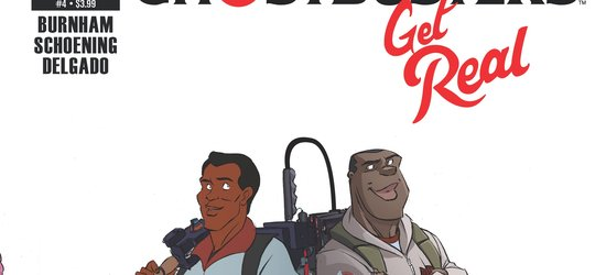 Ghostbusters: Get Real Issue 4 Cover