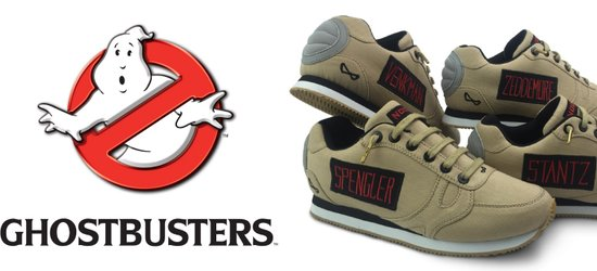 Nookiee Limited Edition Ghostbusters Shoes