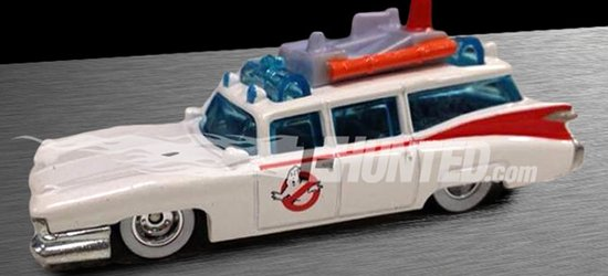 The Real Ghostbusters Ecto-1 from Hot Wheels